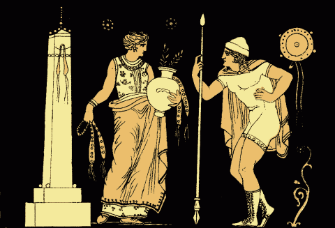 an interpretation of aeschylus in the story of oresteia greek tragedy Seminar greek: aeschylus agamemnon  she's a world-famous expert in greek tragedy and is currently  an understanding of the entirety of aeschylus' oresteia,.