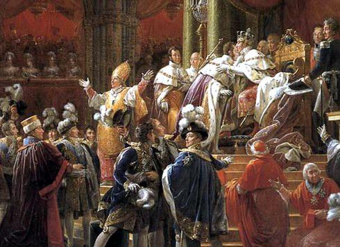 """Франсуа Жерар """"Коронация Карла Х"""" (1827)"""
